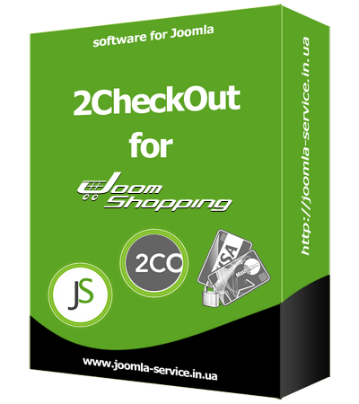Module payment 2CheckOut for JoomShopping